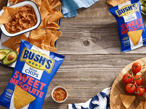 BUSH'S® Sweet Mesquite Bean Chips - Lifestyle