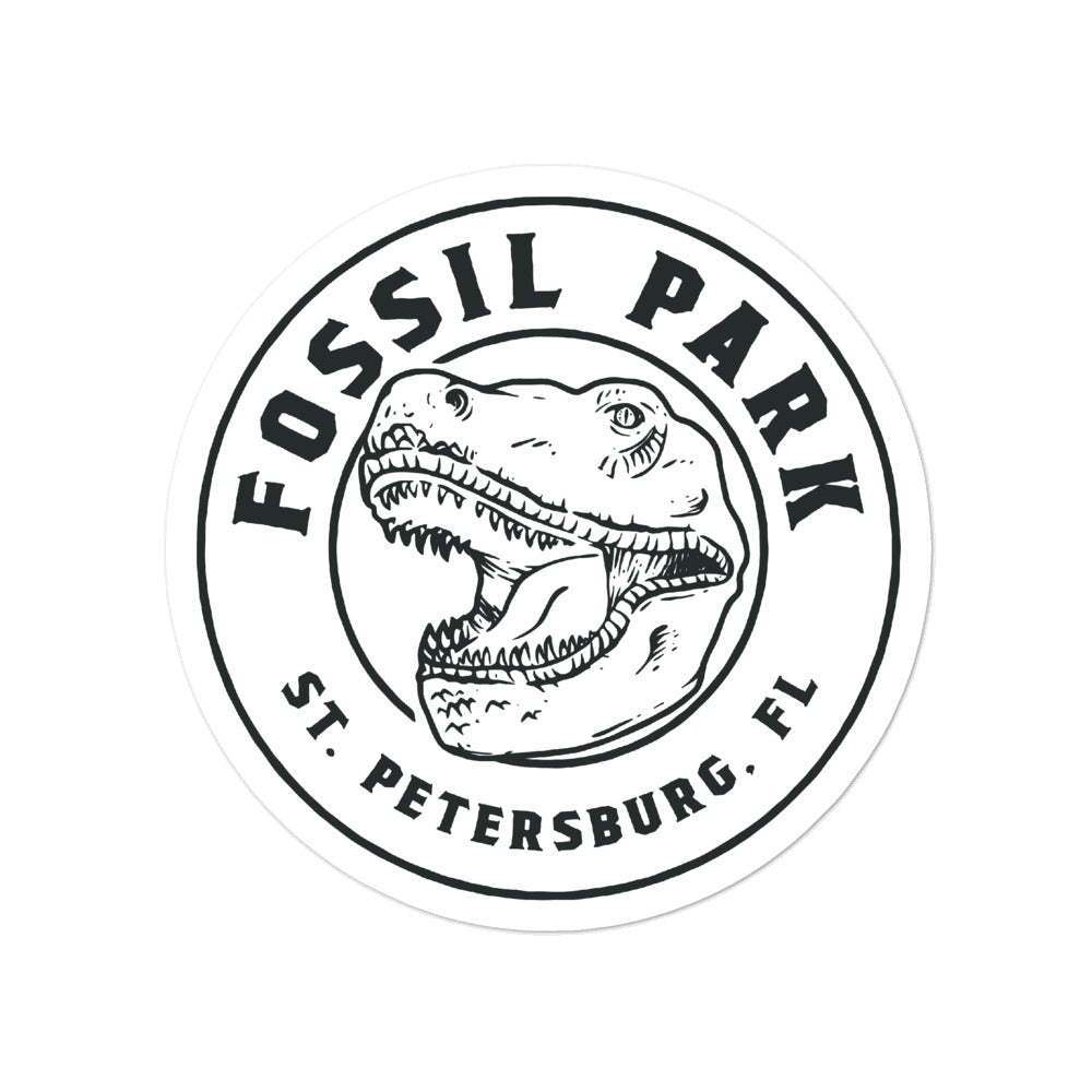 Fossil Park, St. Petersburg | Sticker