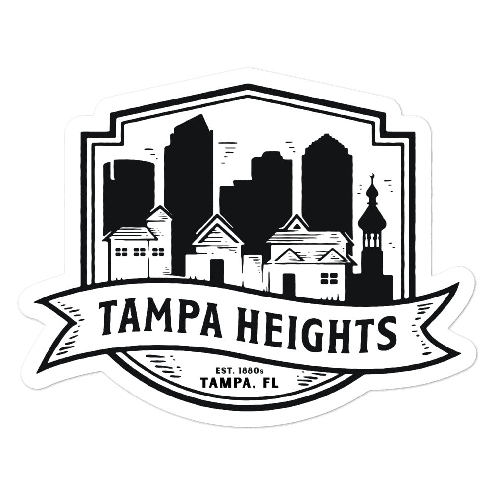 Tampa Heights, Tampa | Sticker