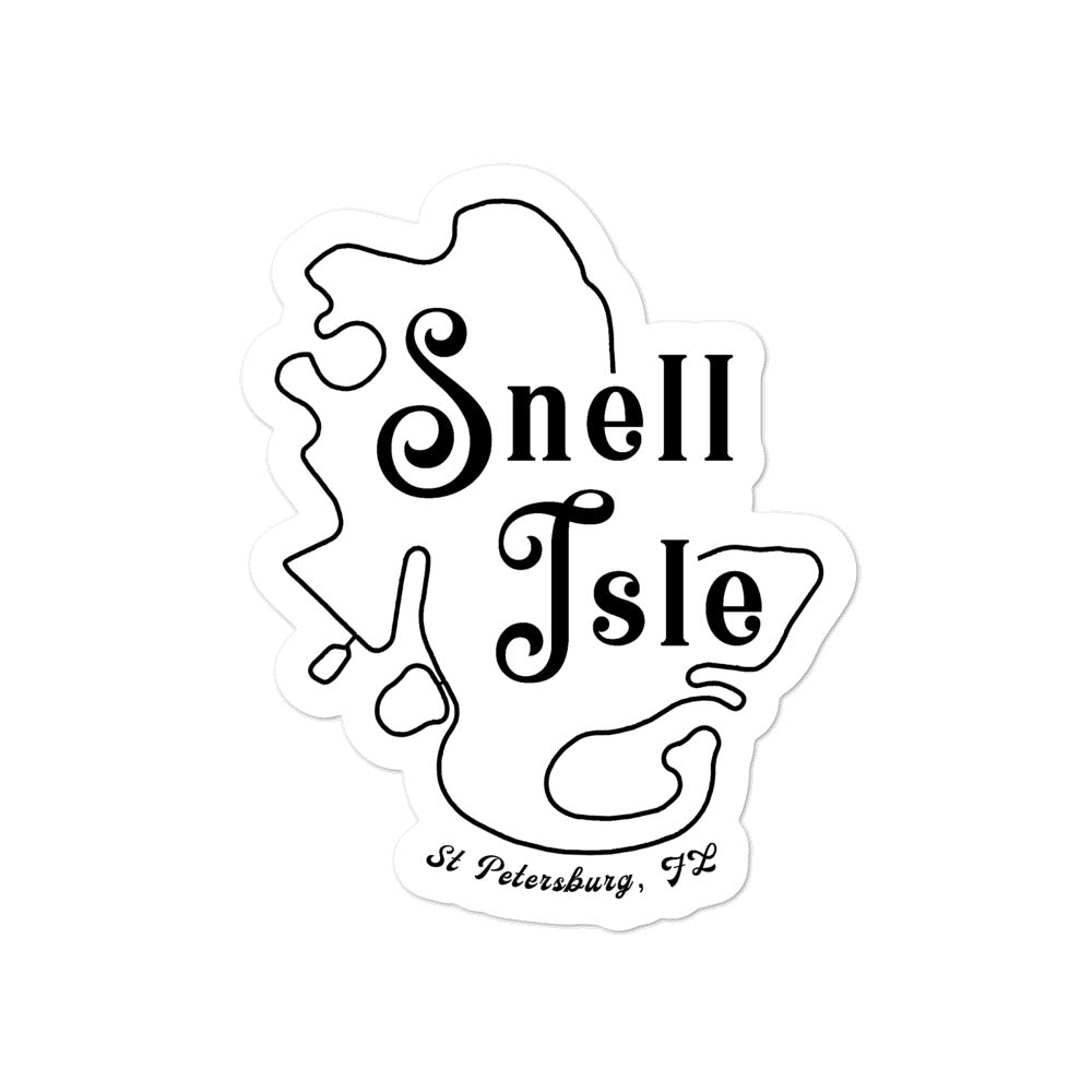 Snell Isle, St. Petersburg | Sticker
