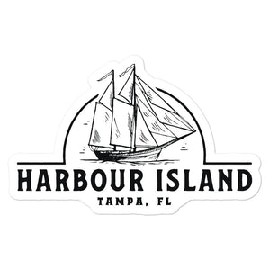 Harbour Island, Tampa | Sticker