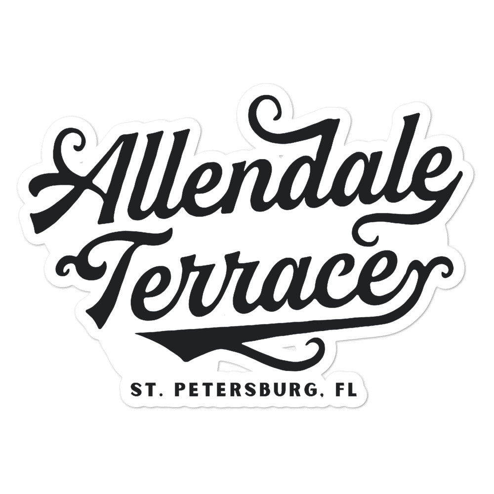 Allendale Terrace, St. Petersburg | Sticker
