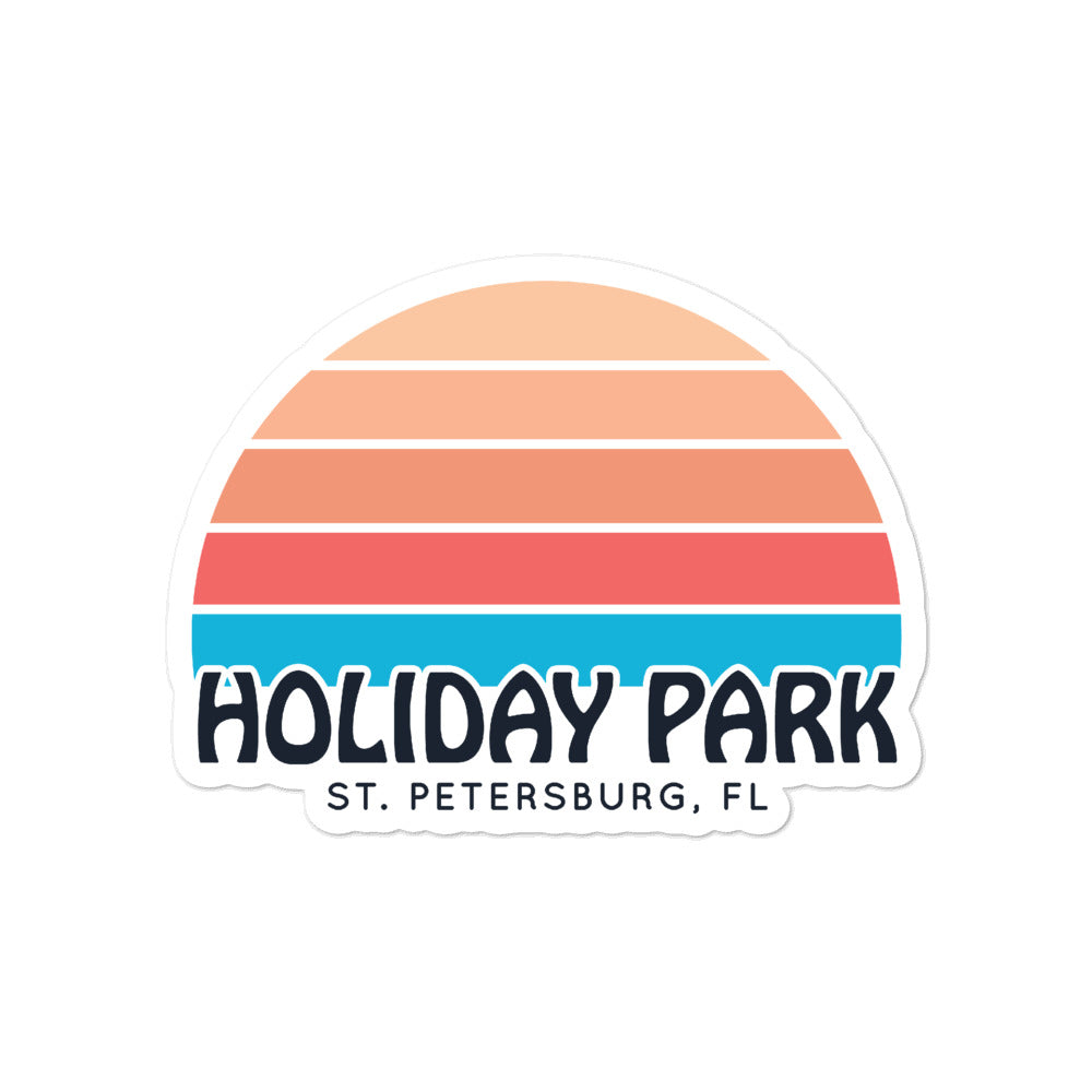 Holiday Park, St. Petersburg | Sticker