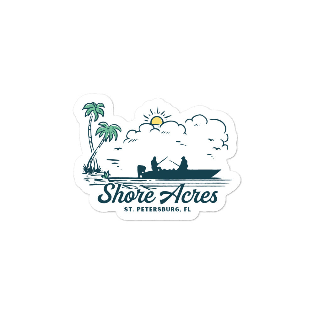 Shore Acres, St. Petersburg | Sticker