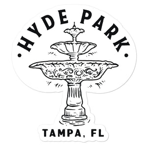 Hyde Park, Tampa | Sticker