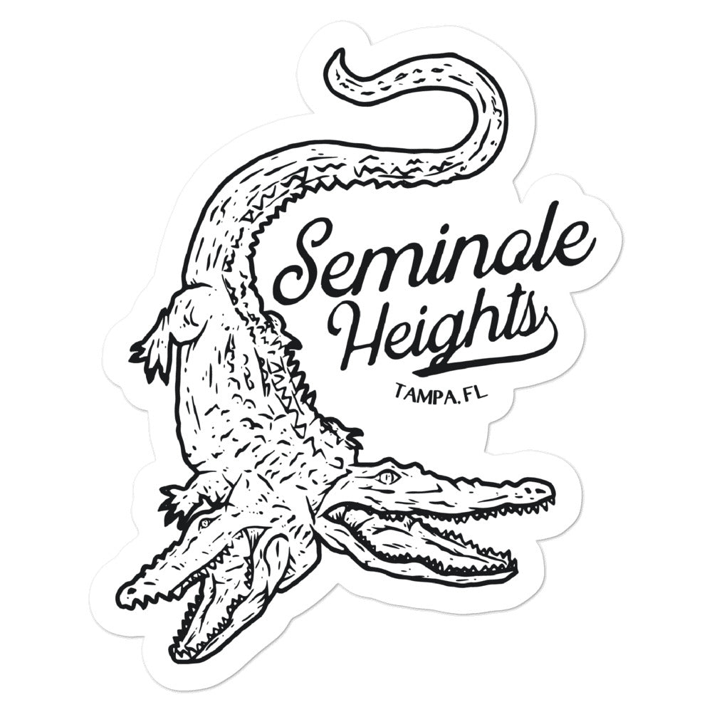 Seminole Heights, Tampa | Sticker