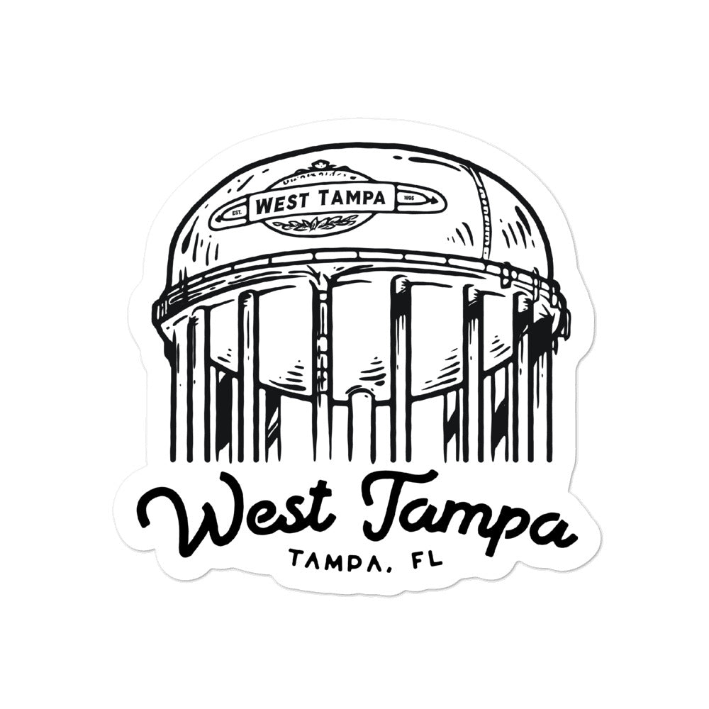 West Tampa, Tampa | Sticker
