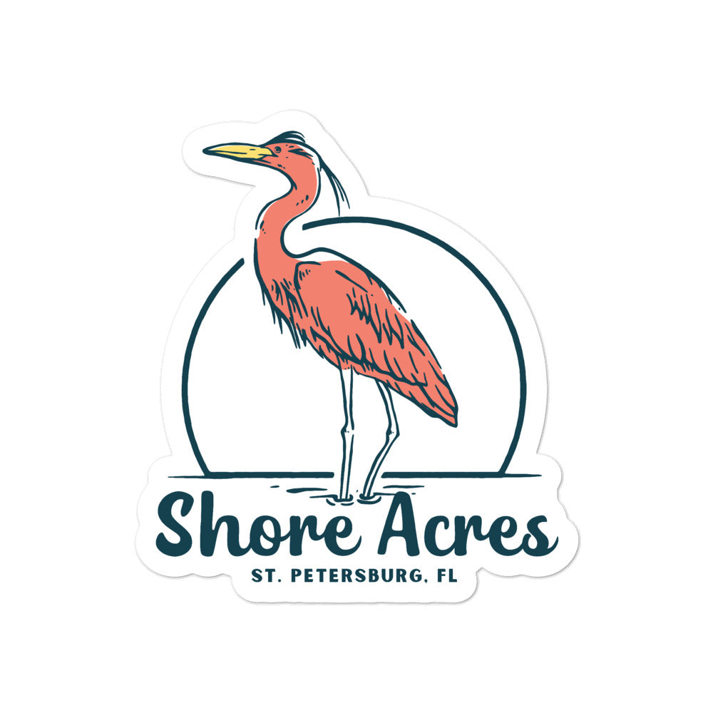 Shore Acres II, St. Petersburg | Sticker