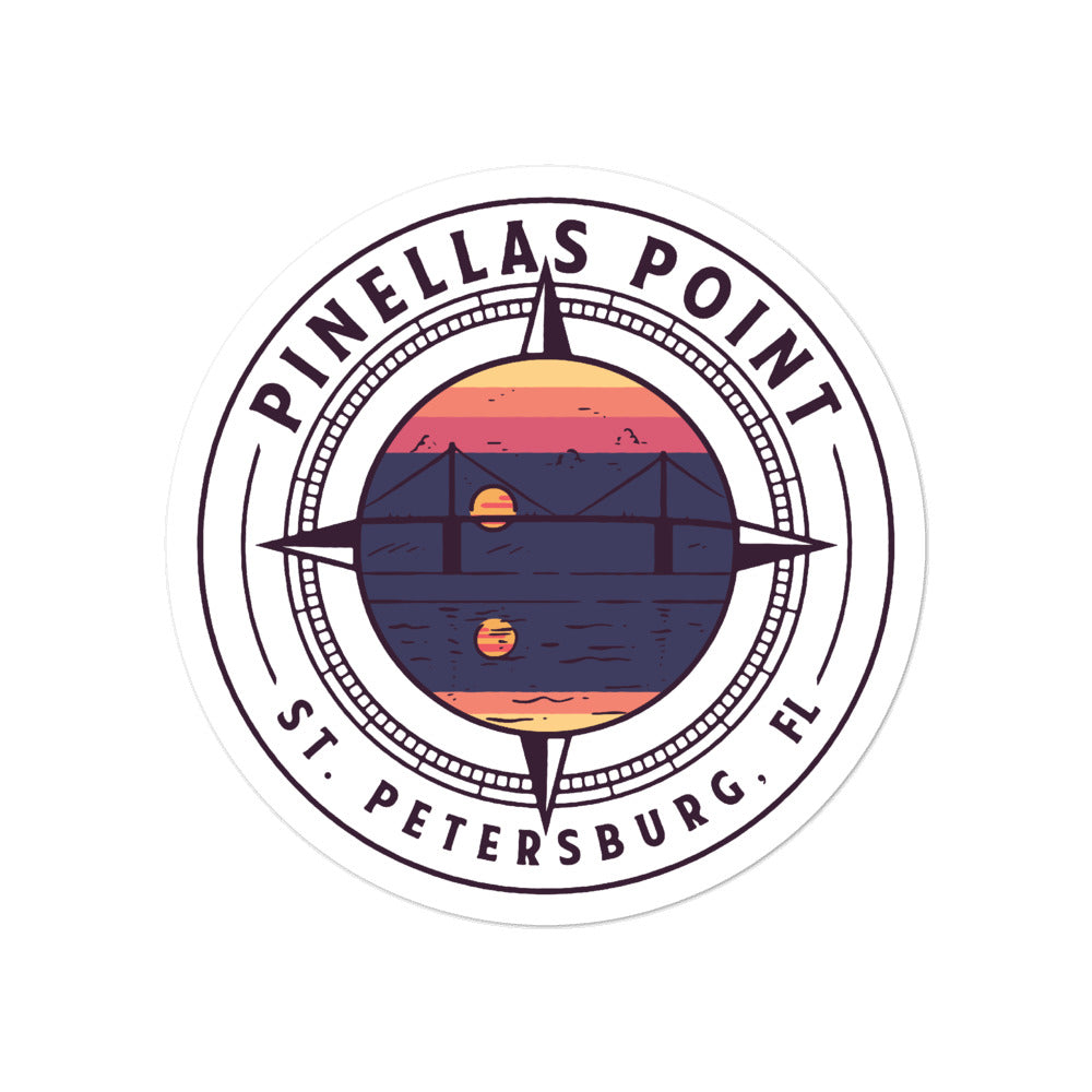 Pinellas Point, St. Petersburg | Sticker