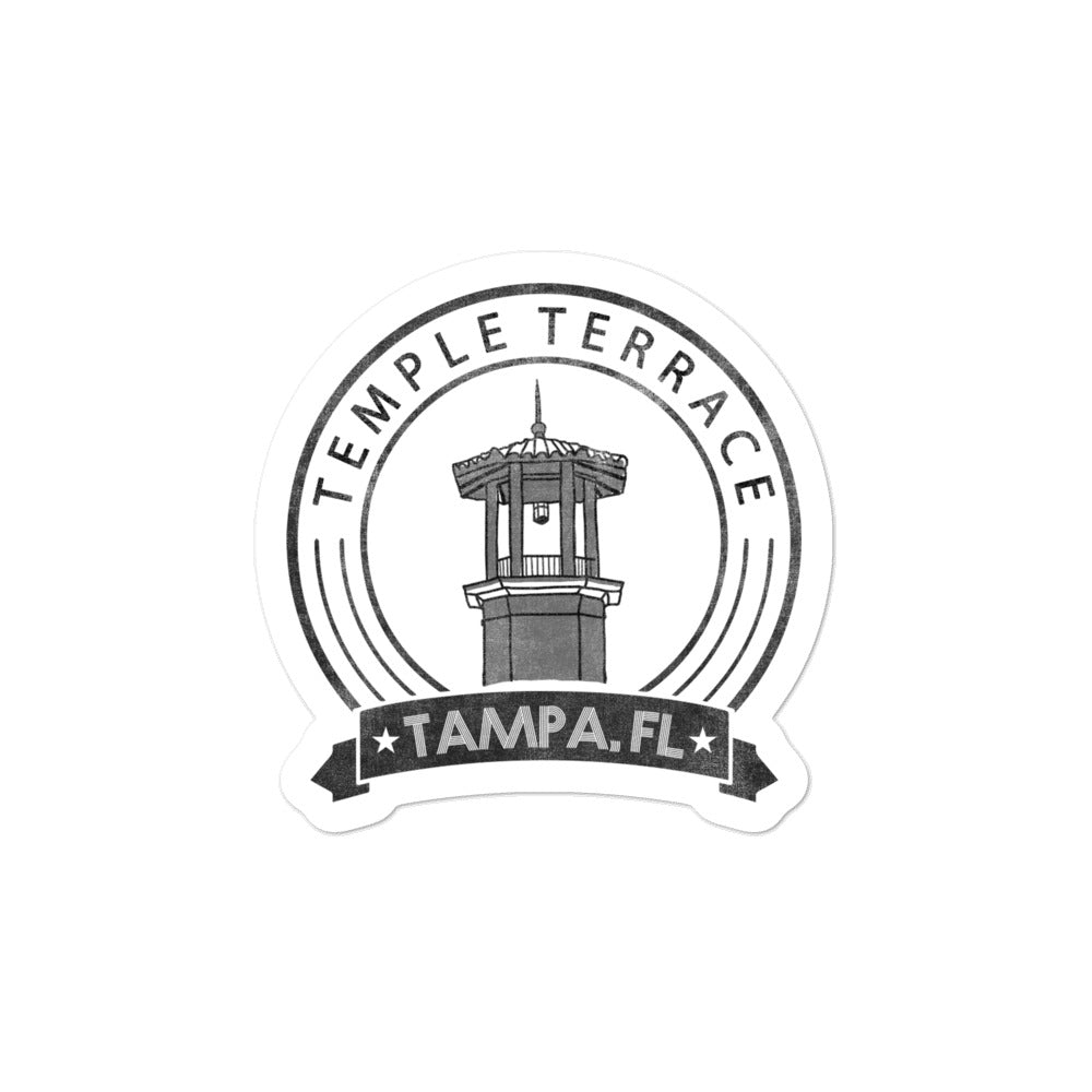 Temple Terrace, Tampa | Sticker