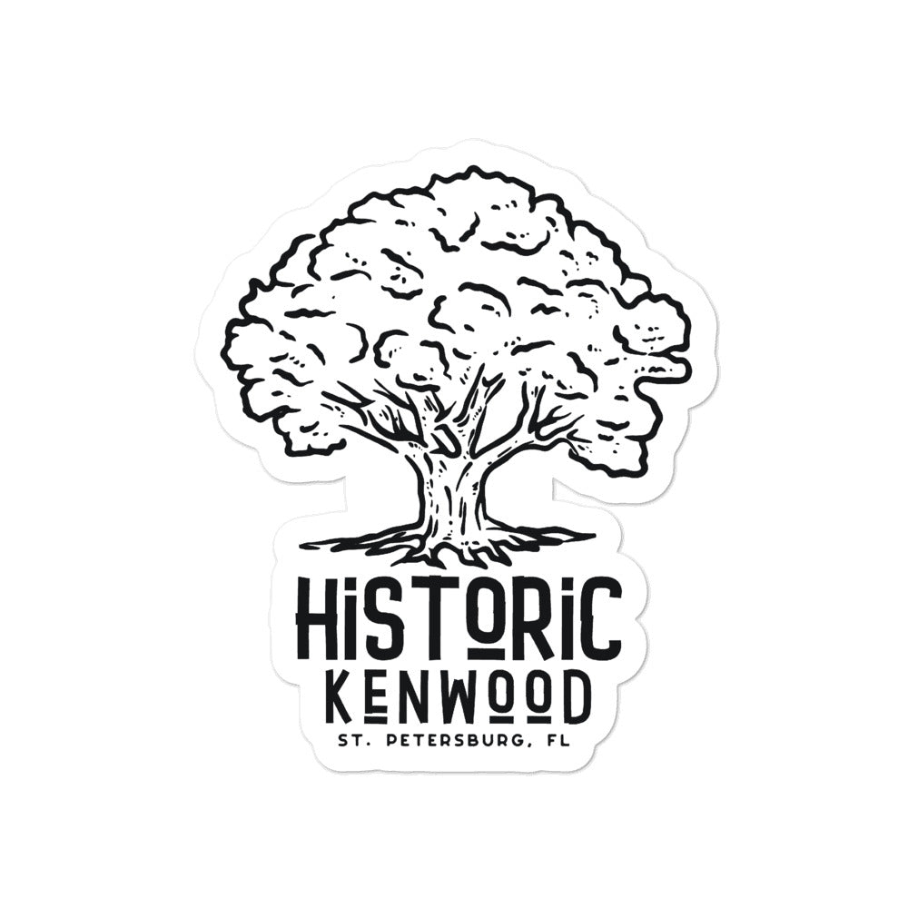 Historic Kenwood, St. Petersburg | Sticker