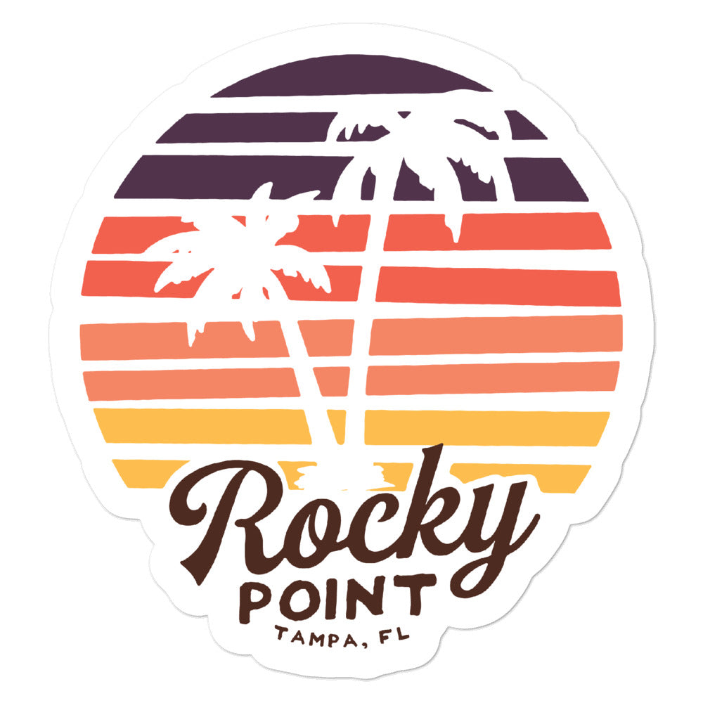 Rocky Point, Tampa | Sticker