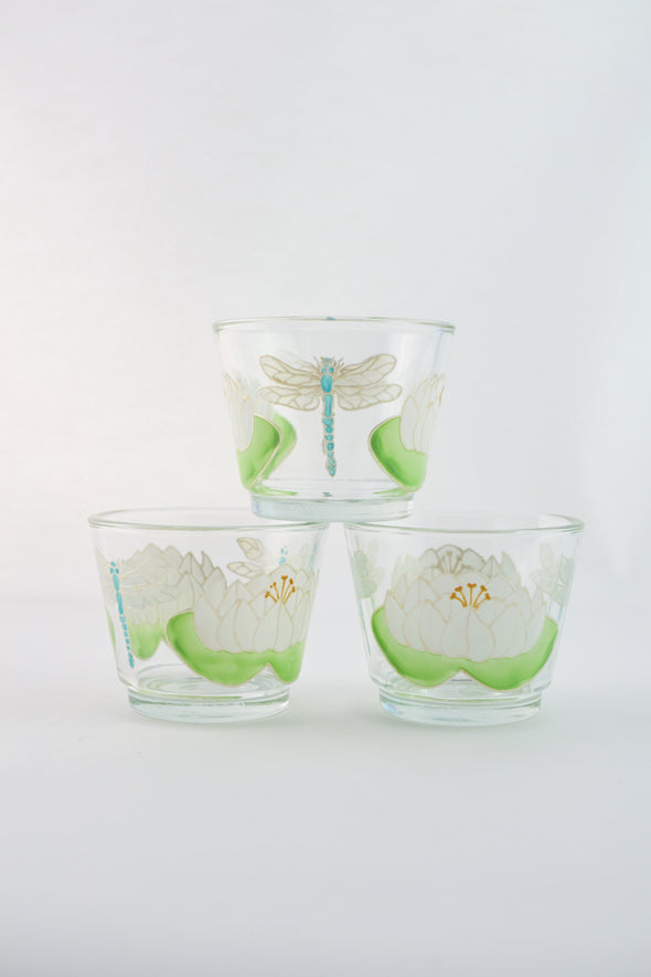 Set of 3 tealight holders
