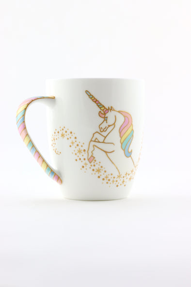 Unicorn Bone China Mug