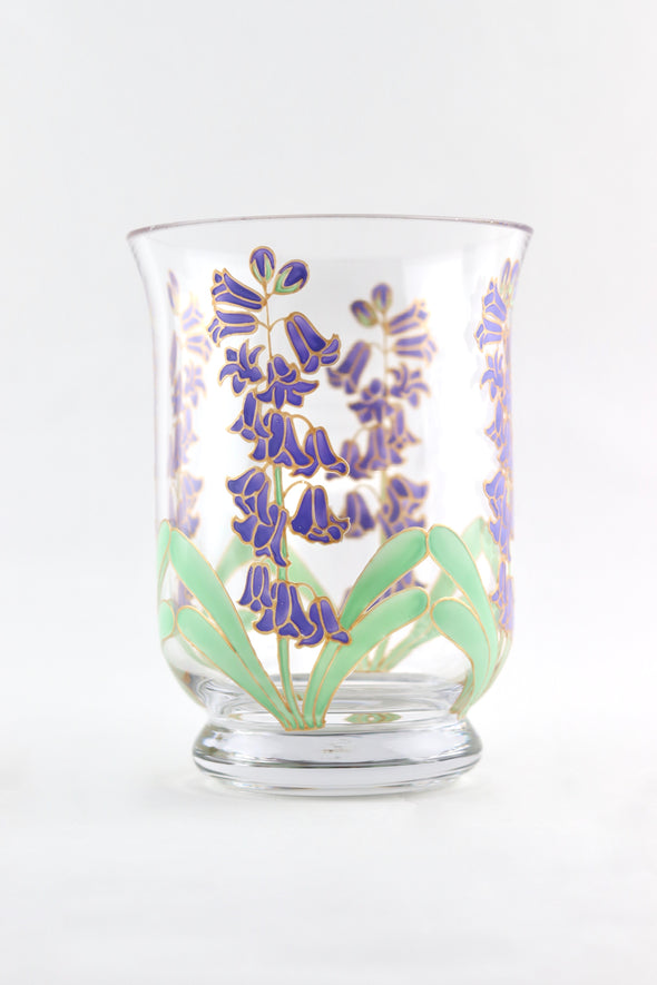 Bluebell Hurricane Vase (small)