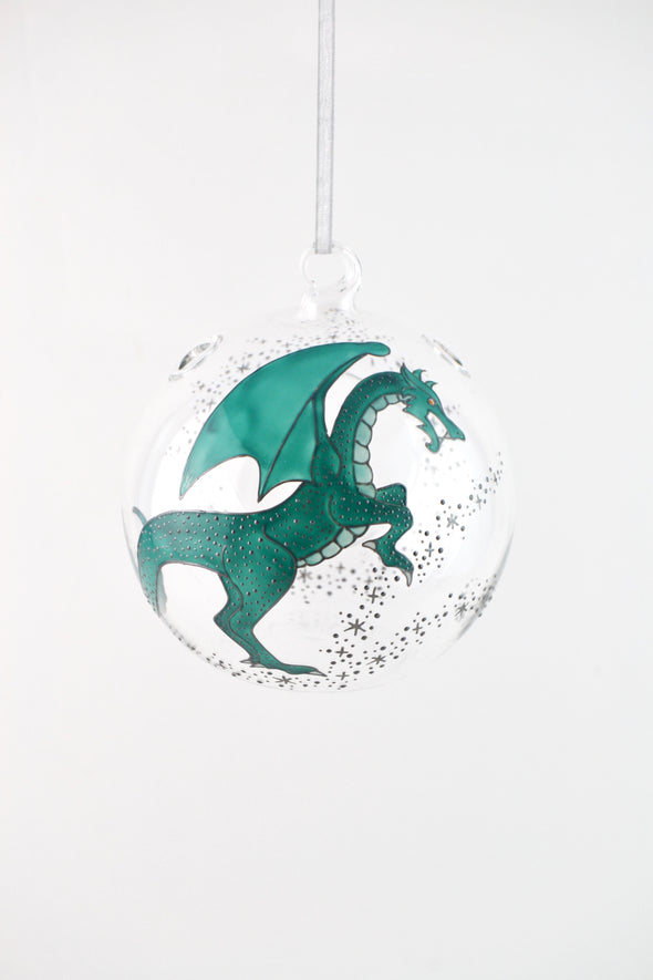 Dragon Hanging Tealight Bauble