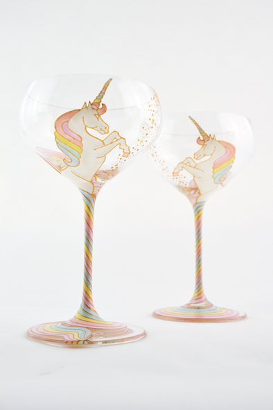 Unicorn Champagne Coupe