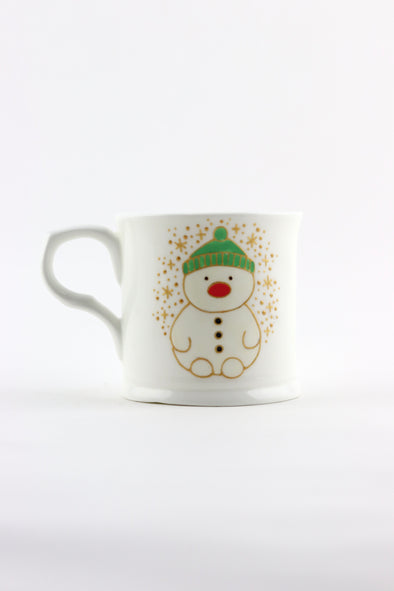 Personalised Snowman Cup