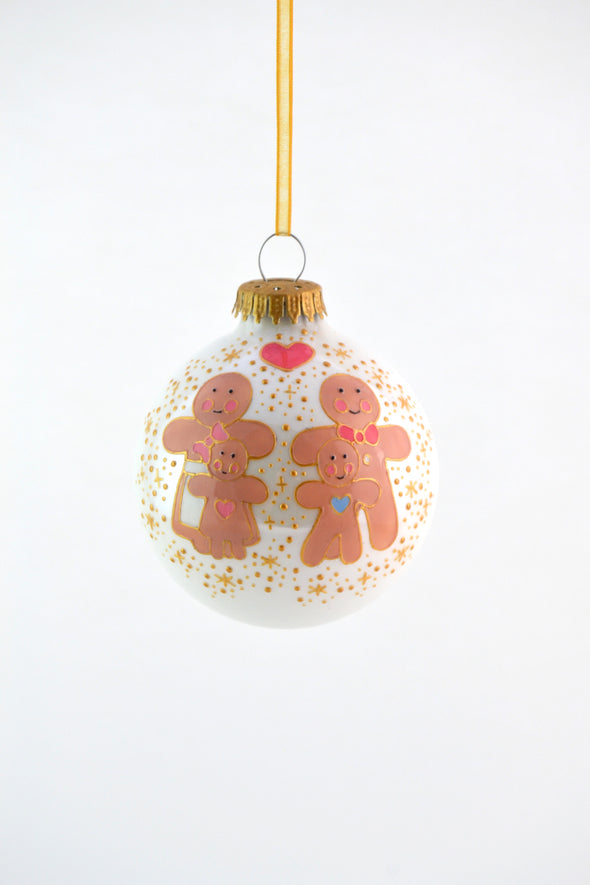 Gingerbread Family Bauble
