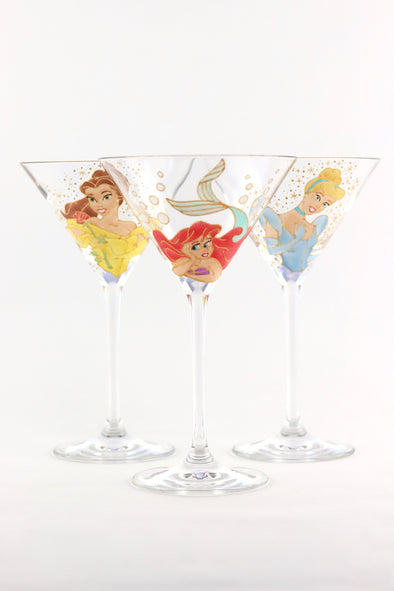 Disney Princess Cocktail Glass