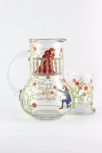 Romeo and Juliet Bedside Carafe