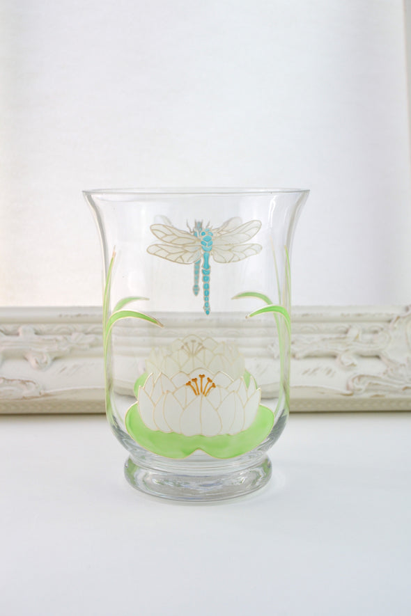 Dragonflies Candle Jar