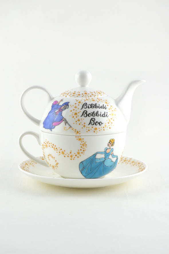Cinderella Tea Set for One