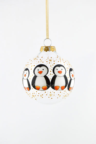 Penguin Family Bauble