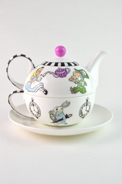 Alice's Tea Party Tea Set for One