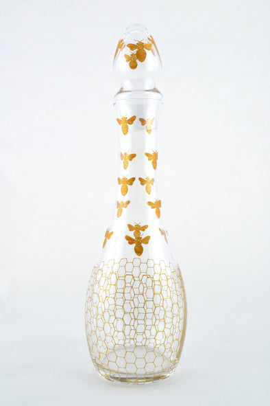 Gold Bees Decanter
