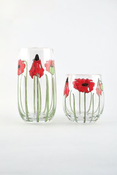 Poppies Tumbler (2 sizes)