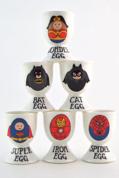 League of Super Eggs Egg Cups