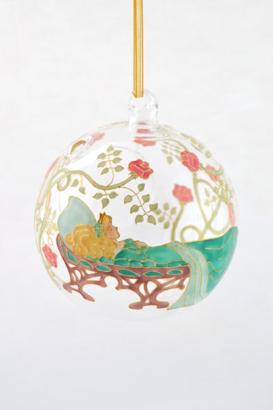 Sleeping Beauty Tea Light Bauble