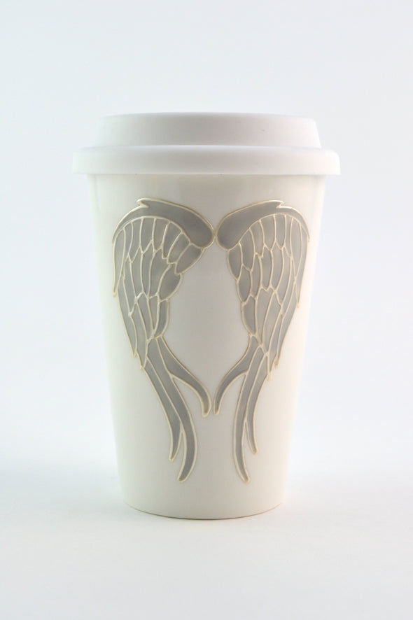 Angel Wings Travel Cup