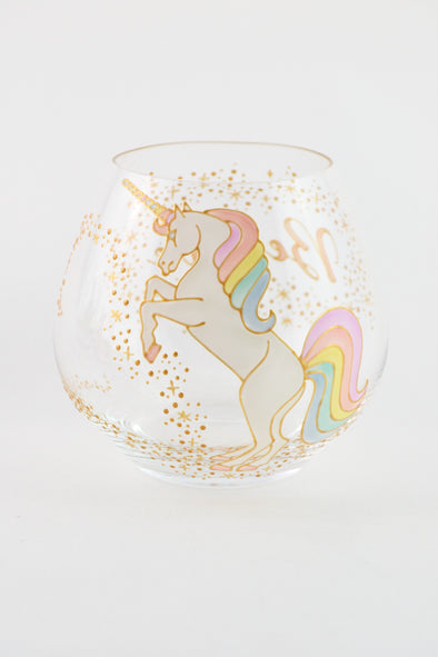 Unicorn Crystal Tumbler