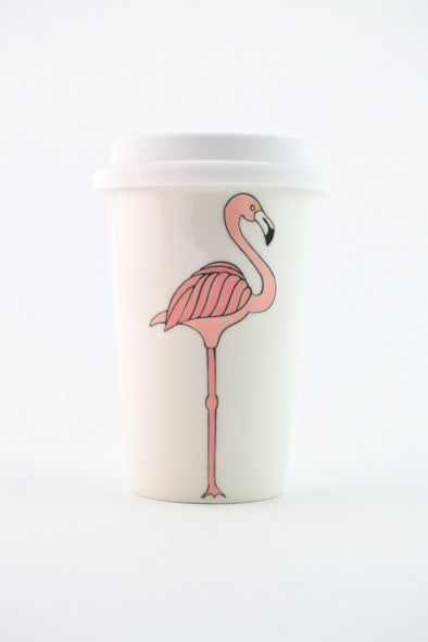 Flamingo Travel Cup