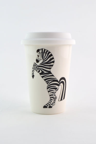 Zebra Travel Cup