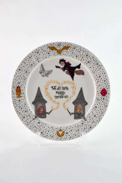 Harry Potter Collectable Side Plate