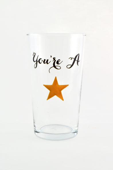 You're A Star Pint Glass
