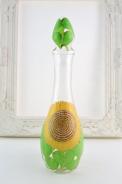 Sunflower Decanter