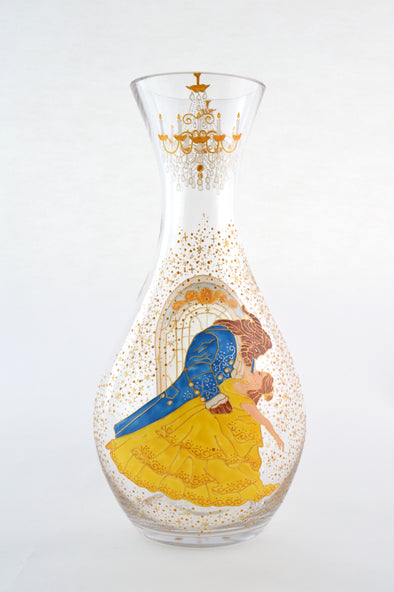 Beauty and the Beast Carafe Vase