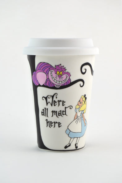 Alice in Wonderland Travel Cup