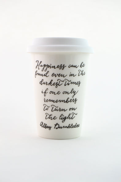 Dumbledore Quote Travel Mug