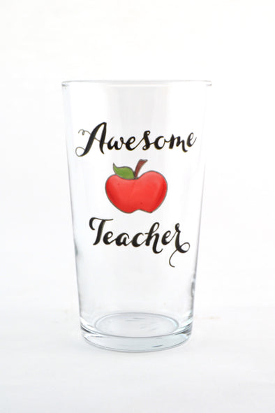 Awesome Teacher Pint Glass