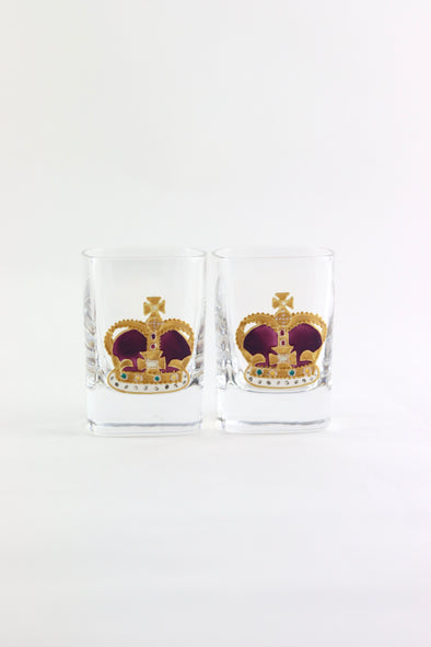 Crown Shot Glasses