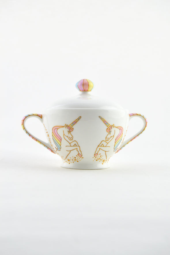 Unicorn Sugar Bowl