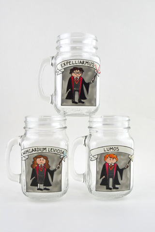 Harry Potter Drinking Jar
