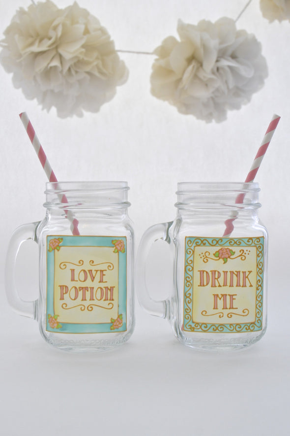 Drink Me/Love Potion Drinking Jar