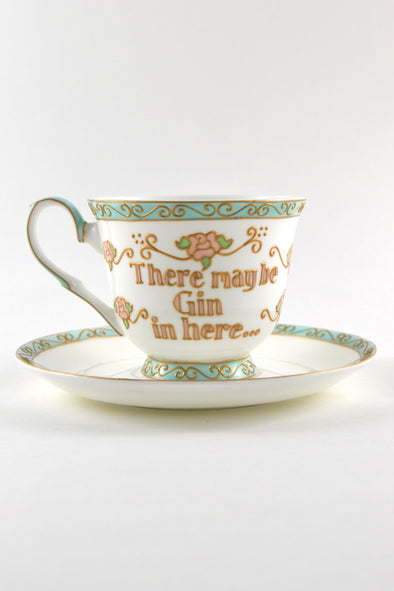 Gin Teacup (tall pedestal)