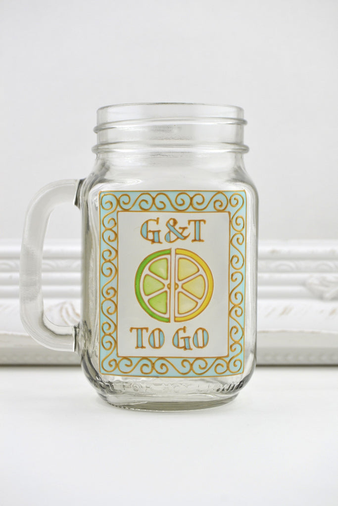 Cocktail to Go...Drinking Jar